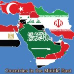 what countries are in the middle east