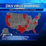 Zika Virus by country 2016 ranking list