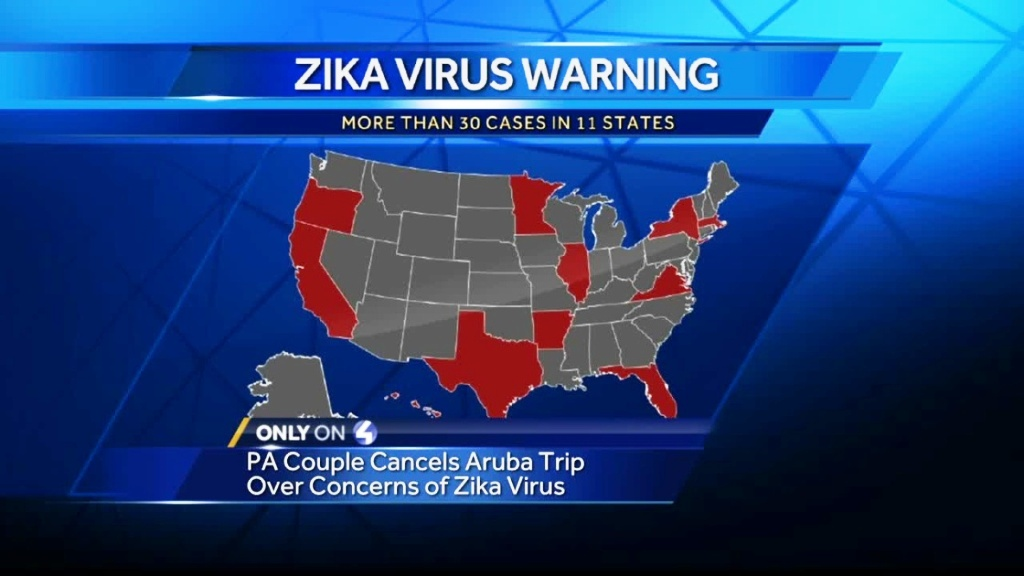 list of Countries with Zika Virus in the world