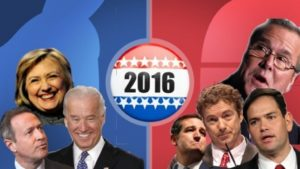 List of Elected Republican Presidential Candidates 2016