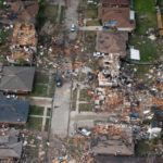 Destructions of New Orleans Tornado