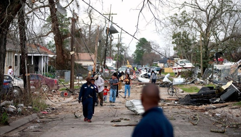 Tornado Strikes New Orleans