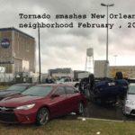 Tornado smashes New Orleans East neighborhood 2017