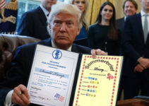Trump Signs Decrees - and is Rolled Over for Them