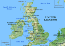 What Countries are in the UK MAP of the United Kingdom